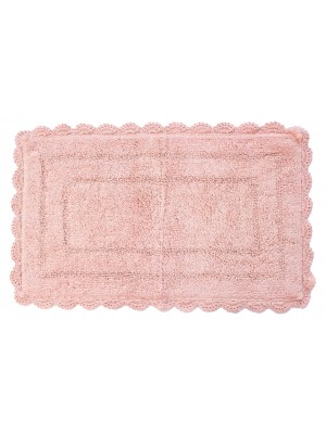ΤΑΠΕΤΟ ΜΠΑΝΙΟΥ COTTON BOΙS DE ROSE 50x80cm DENTELLE 57904